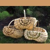 Basket made of pine root and willow - small