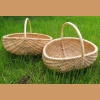Basket made of pine root - small