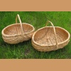 Basket made of pine root - large