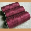 Linen thread 30/2 - aubergine