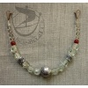 String of beads n24 with berg crystal